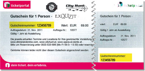 Event Partner Austria Ticket-Gutschein